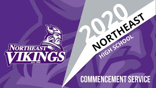 The 2020 Northeast High School Commencement Ceremony