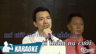 Karaoke Đối Diện Người Tình - Bùi Kiên Tone Nam | Nhạc Vàng Bolero Karaoke