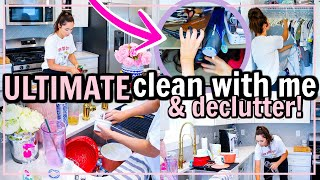 🧽 ULTIMATE CLEAN + DECLUTTER 2020! CLEANING AND DECLUTTERING MOTIVATION | Alexandra Beuter