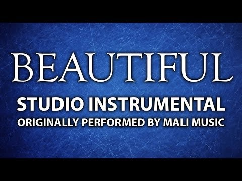 Beautiful (Cover Instrumental) [In the Style of Mali Music]