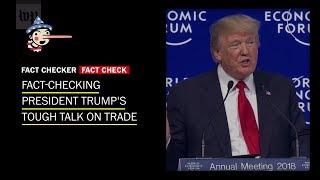 Fact-checking Trump's Tough Trade Talk