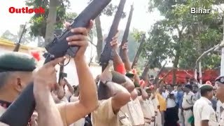 Bihar Police Embarrassed After 22 Guns Fail To Fire During State Funeral Of Former CM Jagannath Mish