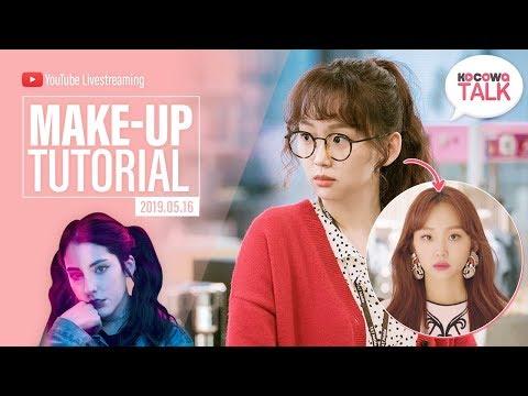 Download Jeong Gal Hee (Jin Ki Joo) Make-up Tutorial with Pandangelica [KOCOWATALK] HD Mp4 3GP Video and MP3