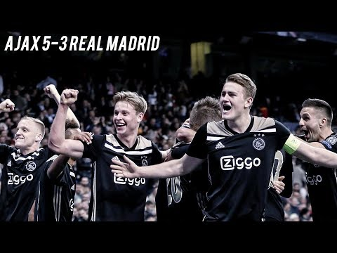 AJAX v REAL MADRID - The Fall Of The Kings   5-3 Cinematic Highlights ❌❌❌