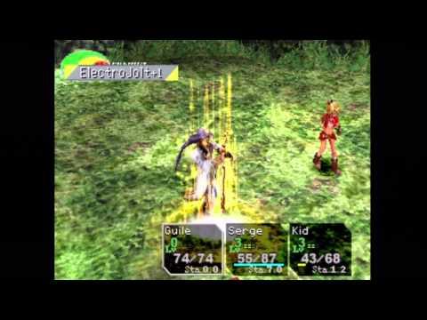 Chrono Cross (PS1) Gameplay