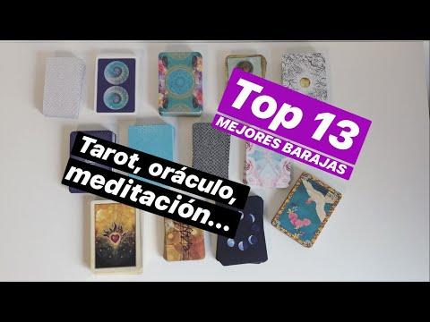 TOP 13  MEJORES BARAJAS DE TAROT, ORÁCULO, MEDITACIÓN...
