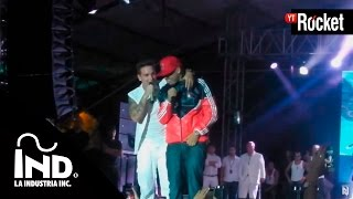 Nicky Jam y J Balvin en Tarima | Feria de Las Flores 2013