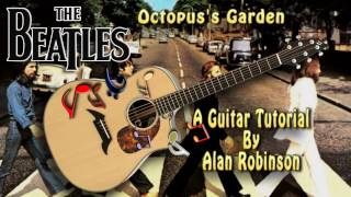 Octopus's Garden - The Beatles - Acoustic Guitar Lesson