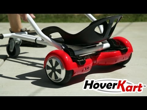 Introducing HoverKart - Transform your hoverboard!