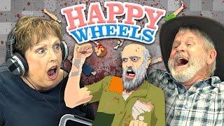 HAPPY WHEELS (Elders React: Gaming)