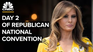 Melania Trump and Mike Pompeo speak at the Republican National Convention — 8/25/2020