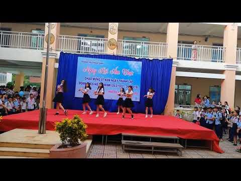 SV Khoa Tiếng Hàn TDC Giao lưu văn hóa VIỆT - HÀN tại Trường THCS Phước Bình