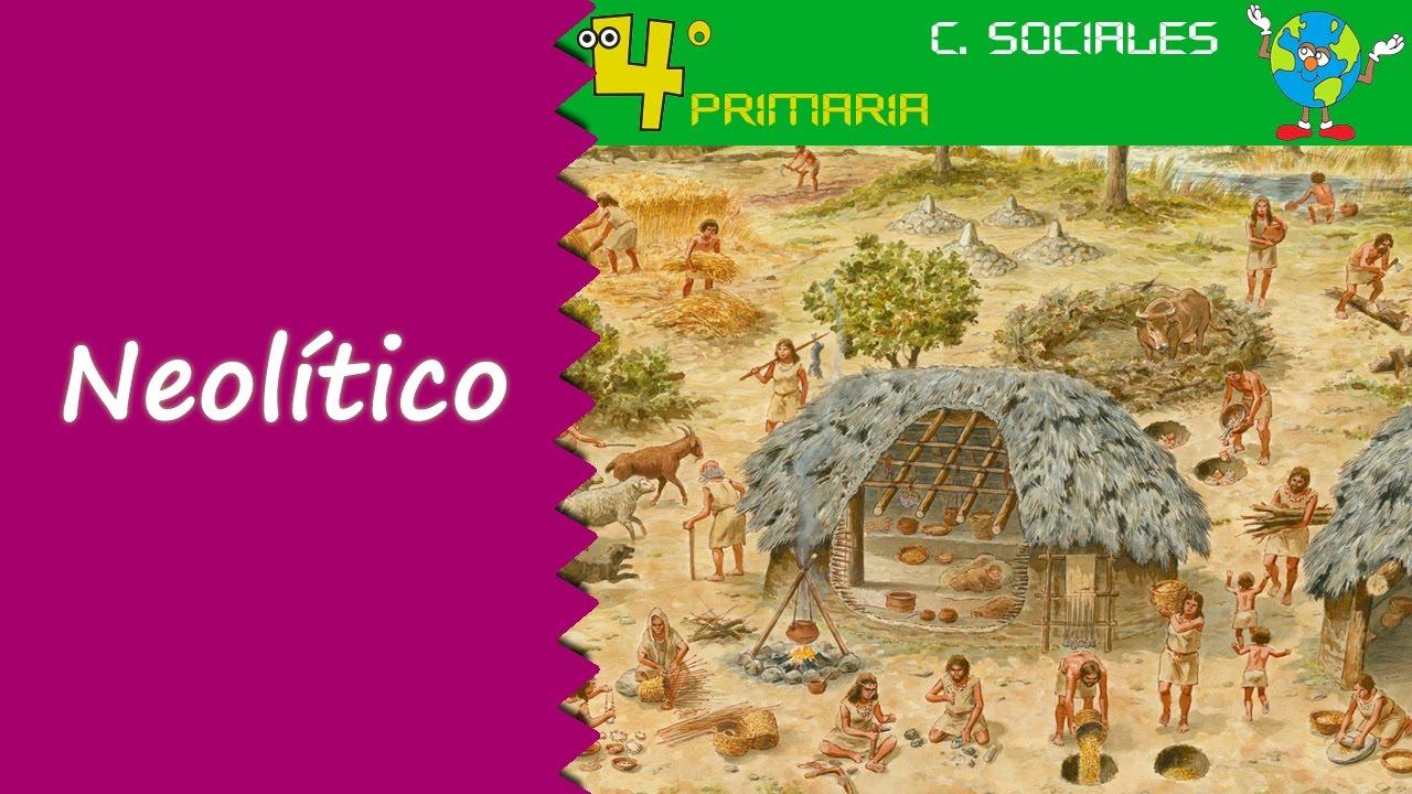 Ciencias Sociales. 4º Primaria. Tema 7. La prehistoria: el neolítico