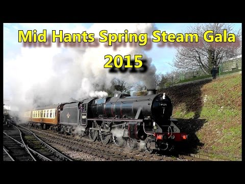 The Mid Hants Railway Spring Steam Gala 13th - 15th February…