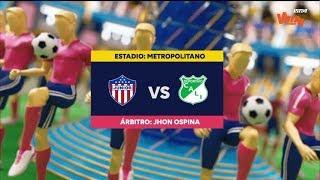 Junior Vs Cali - Resumen Y Mejores Jugadas | Liga Aguila 2019-1 | Cuadrangulares Fecha 5