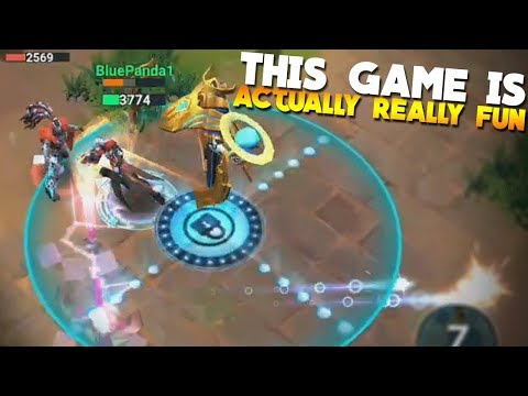 Mobile Battleground Blitz Gameplay! (How To Play, Review)