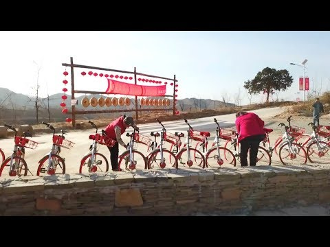 Can bike-sharing rid poverty in rural China?