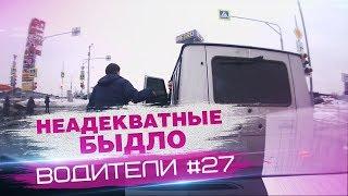 Неадекватные водители или разборки на дорогах #27