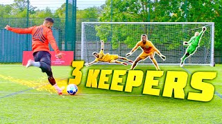 F2 VS 3 KEEPERS!!! ⚽️🧤🔥