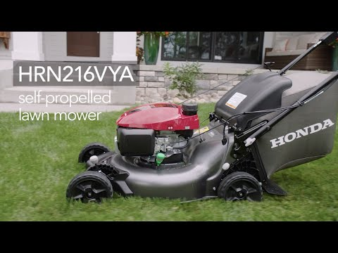 Honda Power Equipment HRN216VYA GCV170 Self Propelled in Grass Valley, California - Video 1