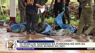 55 rebelde nabawas sa puwersa ng NPA sa Northern Mindanao