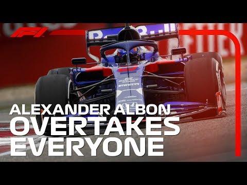 Alexander Albon's China Fightback   2019 Chinese Grand Prix