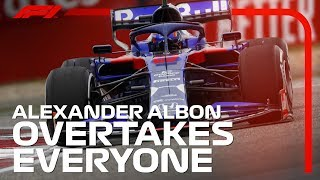 Alexander Albons China Fightback | 2019 Chinese Grand Prix