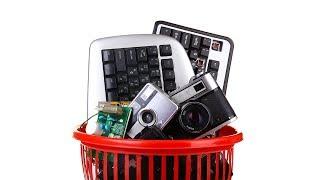 Εσείς ανακυκλώνετε τις παλιές ηλεκτρικές συσκευές στο γραφείο; Title