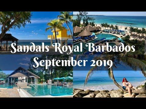Travel Vlog - Sandals Royal Barbados September 2019 - A Britt Abroad