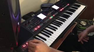 Roland E-A7 Hakan Çebi usb set demo