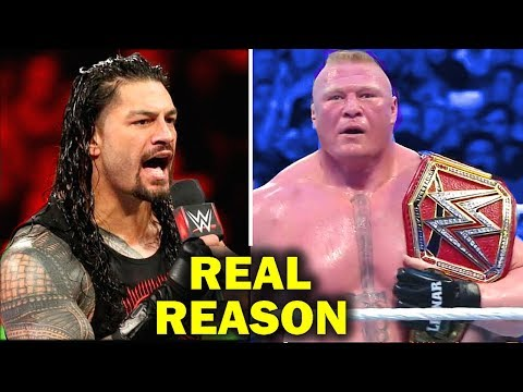 Shocking Reasons Why Brock Lesnar No-Showed RAW - WrestleMania 34 Match Cancelled?
