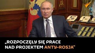 Putin: Miliony ludzi na Ukrainie chcą odbudowy stosunków z Rosją-nagranie w j.rosyjskim