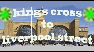 preview picture of video 'Kings Cross to Liverpool Street, by bicycle.'