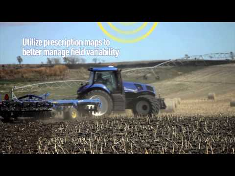 New Holland Agriculture Precision Land Management