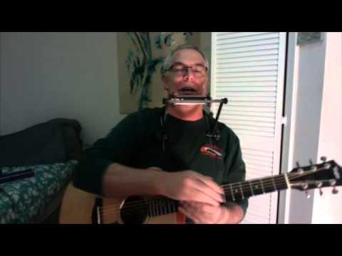 Ken Leiboff and 5 racks (harmonica holders)
