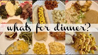 LARGE FAMILY WHAT'S FOR DINNER & DESSERT! || MADE FROM SCRATCH || REAL LIFE MEAL IDEAS