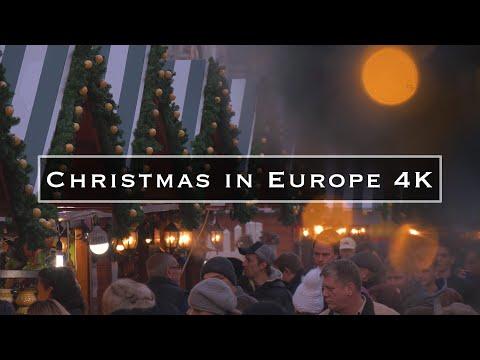סרטון יפיפייה על חג המולד ברחבי אירופה