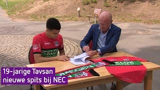NEC haalt 19-jarige Tavsan weg bij Sparta