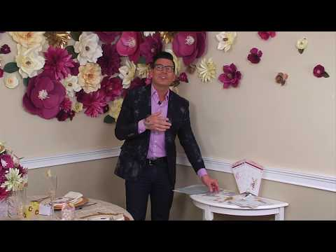 Planning Your Wedding with David Tutera | Sizzix DIY Planner Embellishments Kit