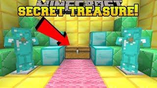 Minecraft: I FOUND A SECRET TREASURE ROOM!! - HEAD HUNTER THEME PARK [12]