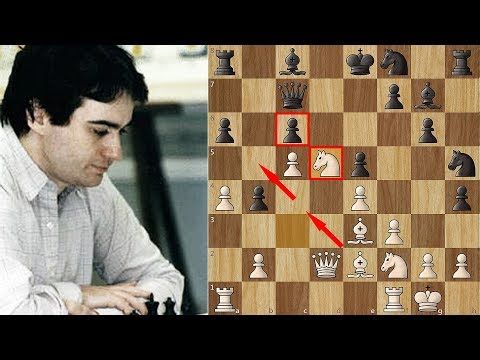 White Sacrifices ALL of his Pieces! The Immortal Sacrifice Game