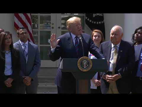 President Donald J. Trump Speaks at the Tax Cuts for American Workers Event
