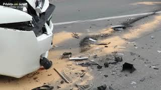 Prometna nesreča v Lukavcih