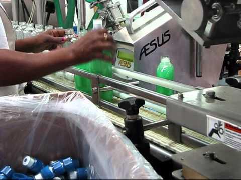 """Aesus AF-1 - the """"Little Filler"""" AF1Short Video Clips.wmv - Aesus AF-1 Semi-Auto Liquid Filler - Gear Pump - sold by Package Devices LLC"""