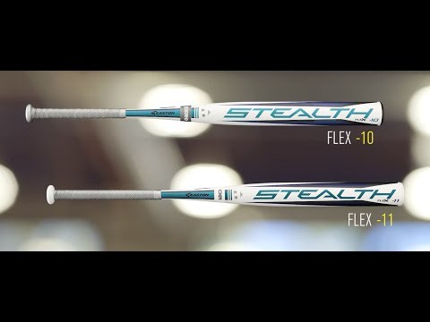 Easton Stealth Flex Fastpitch Softball Bats | 2018 Tech Video