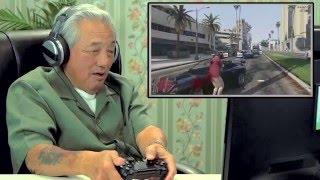 노인분들 GTA 5 플레이 반응!