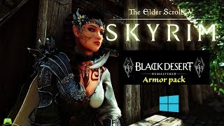 skyrim special edition BDOR Armor Pack HDT Physics showcase [HD]