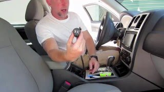 How to install a USB charger 12v outlet in your car