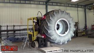 Aura Systems - Tire Manipulator