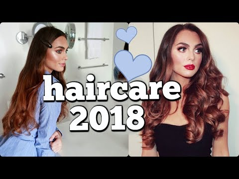 Healthy HAIR CARE Routine 2018 & Model Off Duty Hairstyles